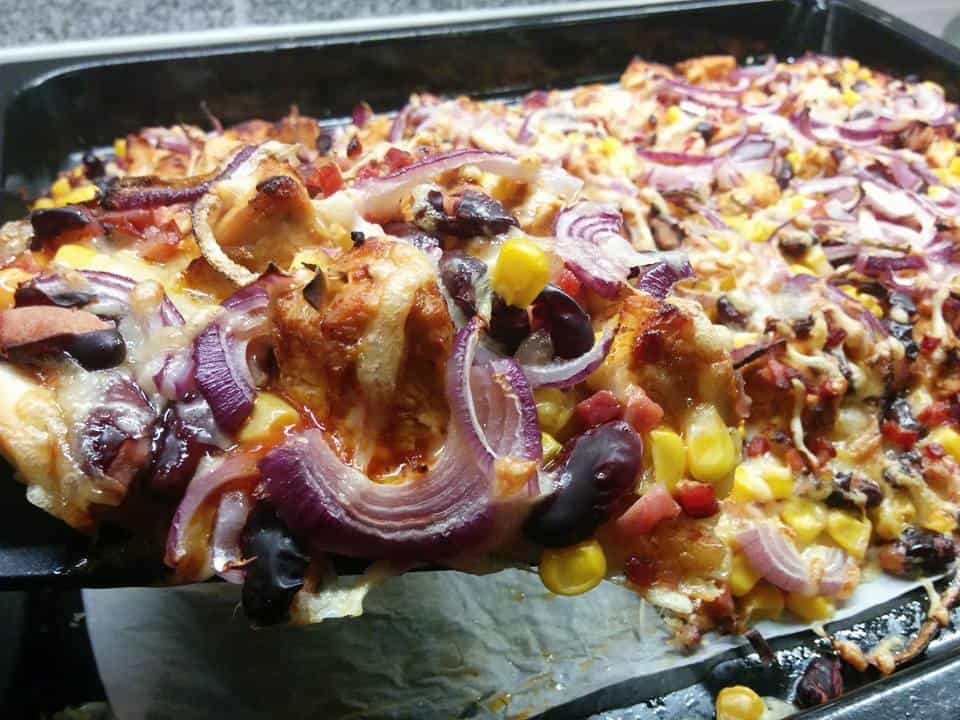 Rezept Chicken - BBQ - Pizza