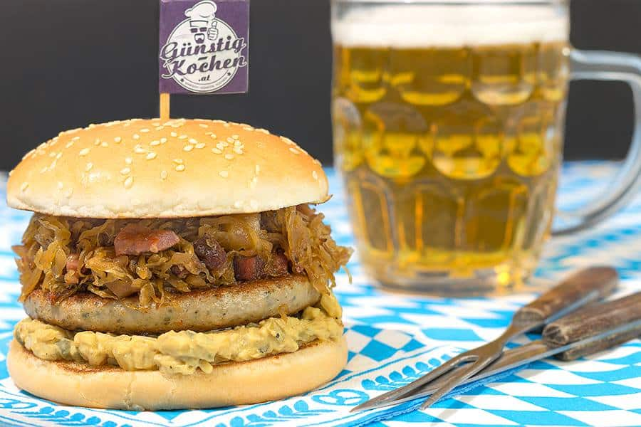 Rezept Wiesn Burger