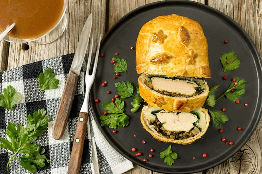 Rezept Chick Wellington